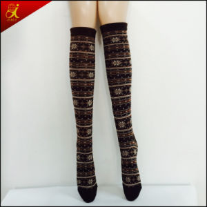 Young Girl Fashion Style LED Over The Knee Socks