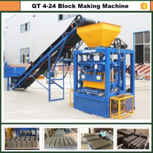 Light Hand Operated Brick Making Machine Qt4-24 Dongyue Machinery Group pictures & photos