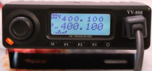 VV-808 Mobile Transceiver 10W Two Way Radio Dtmf Vehicle Radio VHF: 136-174MHz or UHF: 400-470MHz