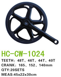 Bicycle Chainwheel Crank ED (CW-1024) pictures & photos