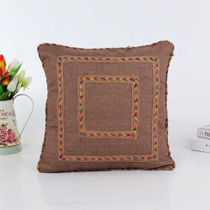 Decorative Hand-Sewing Tape Pillow (LPL-195) pictures & photos