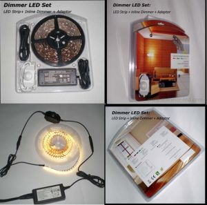 LED Strip Light Set (Driver+Dimmer+Strip) pictures & photos