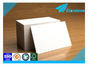 White Coated Ivory Board 200g in Roll