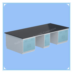 Chemical Steel Lab Side Bench with Cheaper Price