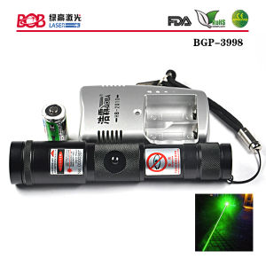 300mw Green Adjustable Focus Laser Torch (BGP-3998)