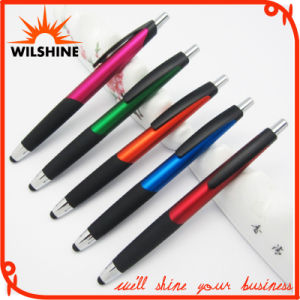 Plastic Promotion Stylus Ball Point Pen for Logo Printing (IP009) pictures & photos