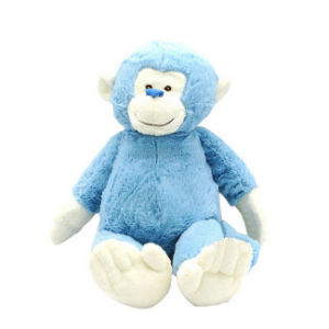 Soft Toy Animals Stuffed Plush Blue Monkey Toy