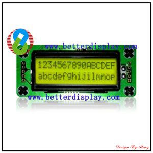 LCM LCD Screen Stn Green Negative LCD Module Stn 1602 pictures & photos