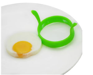 High Quality Round Shape Fried Egg Forms Silicone Egg Mold