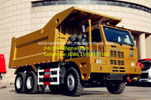 China Heavy Duty Dump Truck, HOWO 70 Ton Mining King Dump Truck for Mining Explore in Myanmar, Vietnam etc South Asian Countries