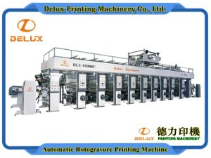 9 Colors, High Speed Computerized Rotogravure Printing Machine (DLY-91000C)