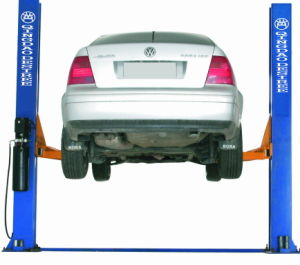 2 Post Car Hoist Hydraulic Car Lift with Ce