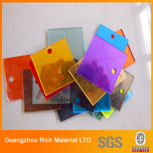 1mm Mirror Acrylic Sheet/Colored Mirror Acrylic Sheet/3mm Thickness Golden Mirror Acrylic Sheet pictures & photos