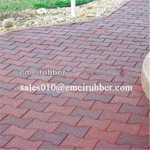 Recycled Horse Pathway Rubber Brick pictures & photos