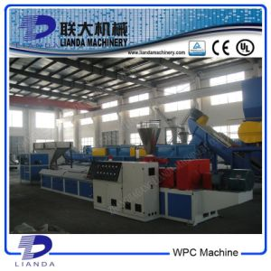 Plastic Wood Machinery/Wood Plastic Composite Profile Extrusion Machine