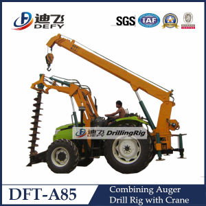 Dft-A85 Power Pole Erection Auger Drilling Machine pictures & photos