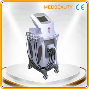 Ultrasonic Cavitation+IPL+Elight+RF+Vacuum Machine Painless pictures & photos