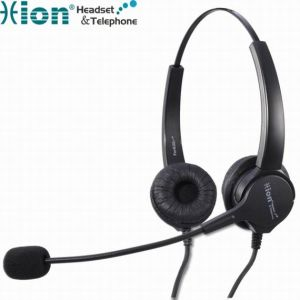 Binaural Noise Canceling Microphone Call Center Headset (For630D)