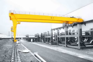 Semi-Gantry Crane with Electric Hoist pictures & photos