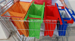 Grocery Cart Bags Trolley Bag with an Insulated Cooler Bag