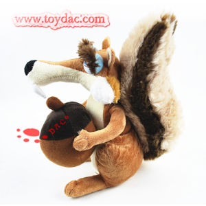 Plush Squirre Ice Ages Toy