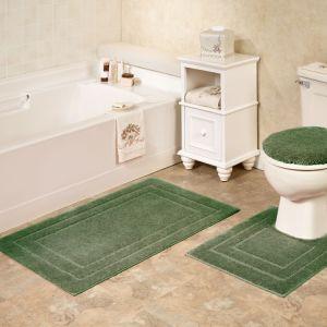 China 3 Pieces Pcs Bath Bathroom Shower Bathtub Toilet Rugs Carpets