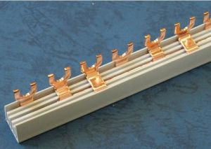 U-3p Busbar U Type Copper PVC Busbar pictures & photos