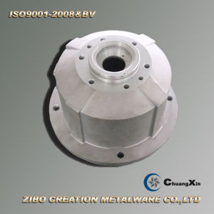 Quality Assured Aluminum Gravity Casting for Tcw 125 Gearbox Flange pictures & photos