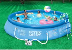 Interesting. Tell adult inflatable swimming pool