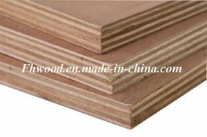 Bb/Bb Grade of Hardwood Plywood for Furniture