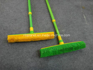 Bath Clean Rubber Broom W/Telescopic Handle pictures & photos
