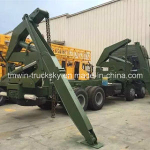 Sinotruck HOWO Shacman Heavy Lorry Tipper Dumper with Mounted Crane pictures & photos