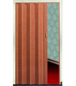 China PVC Plastic Folding Door Zw100001 - China Pvc Folding Door ...