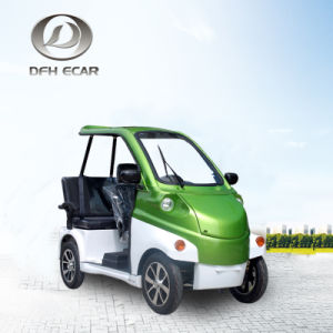 China Mini Electric Sightseeing Car Rental Car Family Use For
