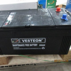 12V Auto Car Truck Battery Made in China pictures & photos