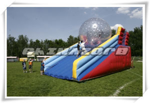 Commercial Grade PVC Tarpaulin Inflatable Zorb Ramp for Zorbing Game