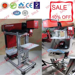 CO2 Laser Marking Printing Machine for Wood Rubber Fruit Cloth pictures & photos