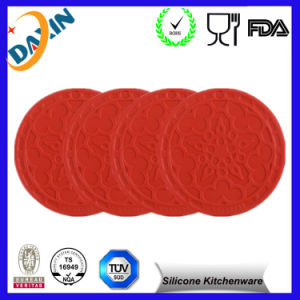 Simple Round Silicone Coaster&Silicone Insulation Pads