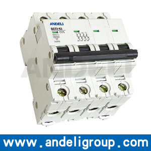 125 AMP 4 MCB Mini Circuit Breaker (DZ53-63) pictures & photos