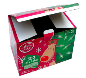 Christmas Paper Gift for Fairy Lights Packing pictures & photos
