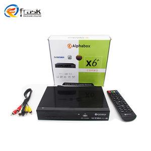 Smart TV Box Alphabox X6+ Combo Powervu Autoroll DVB-T2/C/S2 Combo Receiver  Set Top Box