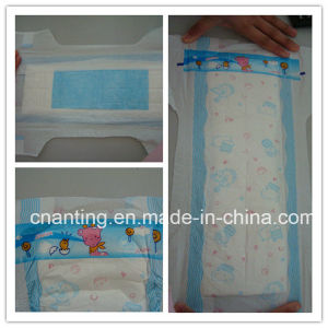 Composite Breathable Backsheet OEM Disposable Baby Diaper pictures & photos