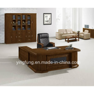 Modern Wooden Executive Boss Table Office Furniture (YF 2038)