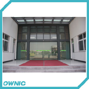 Glass Automatic Sliding Door for Factory pictures & photos