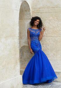 4904585ae1b5 China Amelie Rocky 2018 Long Mermaid Royal Blue Prom Dress - China ...