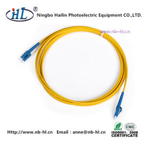Duplex LC/PC 2.0mm 9/125 Fiber Optic Patch Cord pictures & photos