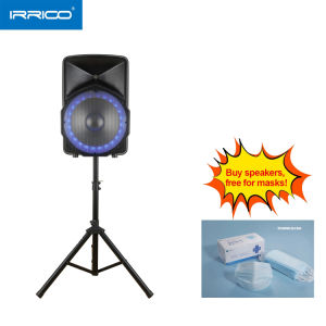 12 Inch Active Speaker Box with RGB Light and Microphone