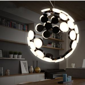 Nice Acrylic Pendant Lamp Modern Crescent Moon Hanging Pendant Light For Room