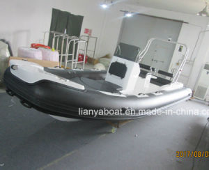 Liya 6.2m Hypalon Fiberglass Hull Inflatable Boat on Sale pictures & photos