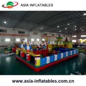 Hot Selling Inflatable Yellow Cartoon Castle pictures & photos